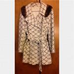 vintage hillmoor fur collar belted coat