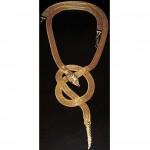 vintage kenneth jay lane snake necklace