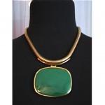 vintage lanvin modernist lucite necklace