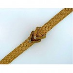 vintage lucien piccard 14k gold diamond hidden wristwatch