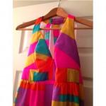vintage malia maxi dress