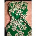 vintage malia shamrock dress