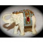 vintage nettie rosenstein elephant brooch