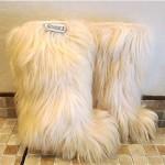 vintage nordica goat apres ski boots