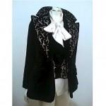 vintage nos lilli ann beaded velvet vest and jacket