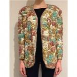 vintage oscar de la renta embroidered jacket