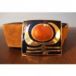 vintage passille sylvestre belt
