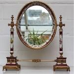 vintage porcelain mirror