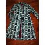 vintage raincheetahs tapestry coat
