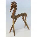 vintage signed frederick weinberg bronze horse sculpture