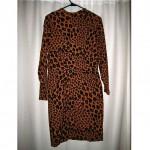 vintage yves saint laurent leopard dress