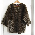 vintage barbara hulanicki faux leopard coat