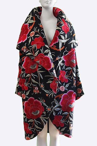 vintage 1980s kamali cocoon coat