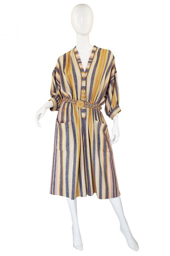 vintage 1970s missoni jumpsuit dress