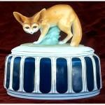 vintage 1910s hans harder for fraureuth german porcelain covered tureen
