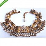 vintage 1950s chistian dior haute couture necklace