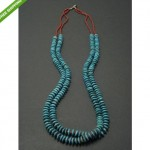 vintage coral and turquoise necklace