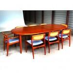 vintage danish modern dining set