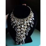 vintage juliana rhinestone necklace and earrings