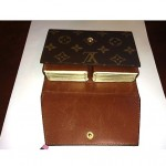 vintage louis vuitton playing card case with cards