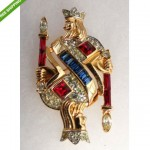 vintage phillipe for trifari brooch