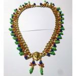 vintage signed egyptian revival necklace