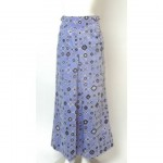 vinatge pucci velvet badanna print maxi skirt