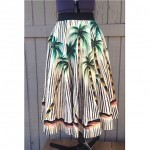 vintage 1950s mexican circle skirt