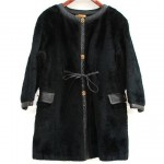 vintage 1960s bonnie cashin faux fur coat