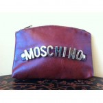 vintage 1970s moschino clutch