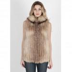 vintage 1970s saga fox fur vest