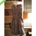 vintage claire mccardell unworn showroom sample dress