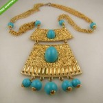 vintage goldette necklace