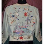 vintage helen bond carruthers embroiderd sweater