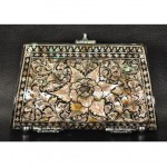 vintage mother of pearl purse