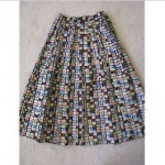vintage 1950s nelly de grab skirt