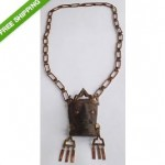 vintage 1960s annette nancarrow pre-columbian fragment necklace