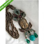 vintage donald stannard necklace