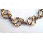 vintage kjl snake bracelet