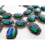 vintage 1930s mexican sterling necklace