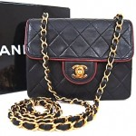 vintage chanel quilted mini flap bag
