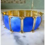 vintage david andersen sterling enamel bracelet