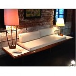 vintage mid-century adrian pearsall sofa day bed