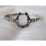 antique victorian horseshoe bracelet