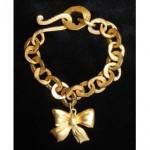 vintage 1990s karl lagerfeld bracelet