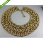 vintage monet choker collar necklace
