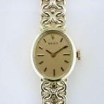vintage rolex 14k watch