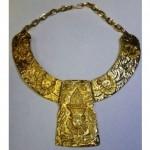 vintage kenneth jay lane choker necklace