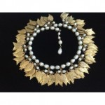 vintage miriam haskell leap necklace