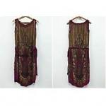 vintage 1920s beaded dress